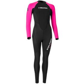 Head Explorer 3.2.2 Suit Women Black/Pink